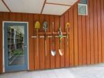 Library art shovels
