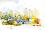 Pender Island Library - artist Keith Valentine