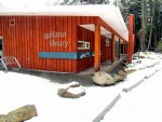 Galiano Is. Library snow