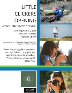 Little Clickers Exhibit - Galiano Is. Library @ Galiano Island Community Library