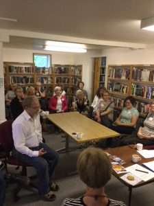 Meeting May 2018, Saturna Is. Library